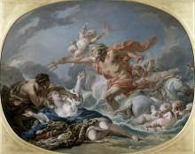 Нептун и Амимона - Буше, Франсуа