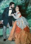Альфред Сислей с женой - Ренуар, Пьер Огюст