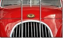 Красный в ретро - Сток