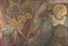 Святой Михаил и другие ангелы - Спинелло Аретино,( Спинелло из Ареццо, Спинелло ди Лука)