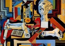Гипсовые голова и руки, 1925 - Пикассо, Пабло