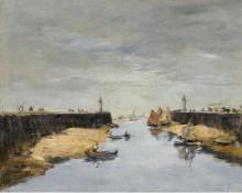 Трувиль, пристани, 1882 - Буден, Эжен