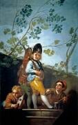 Мальчики, играющие в солдат - Гойя, Франсиско Хосе де