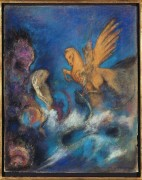 Роже и Анжелика (Персей и Андромеда) - Редон, Одилон