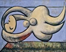 Лежащая обнаженная - Пикассо, Пабло