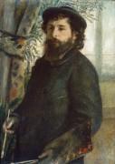 Портрет Клода Моне - Ренуар, Пьер Огюст