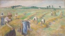 Сбор урожая - Писсарро, Камиль