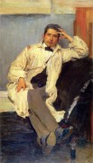 Портрет художника К. А. Сомова. 1895 - Малявин, Филипп