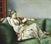 Портрет Марии-Аделаиды Французской в турецком одеянии - Лиотар, Жан-Этьен