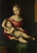 Мадонна и дитя - Рафаэль, Санти
