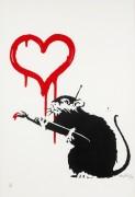 Крыса любви - Бэнкси