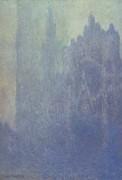Кафедральный собор в Руане, туман - Моне, Клод