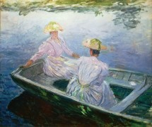 Голубая лодка - Моне, Клод