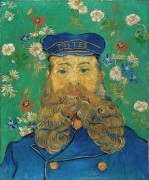 Портрет почтальона Жозефа Рулена (Portrait of the Postman Joseph Roulin), 1889 - Гог, Винсент ван