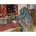 Натюрморт с красным ковором - Матисс, Анри
