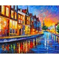 Канал в Амстердаме - Афремов, Леонид (20 век)