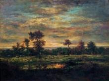 Пруд на опушке леса - Руссо, Теодор