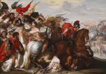 Битва амазонок -  Рубенс, Питер Пауль