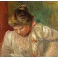 Портрет девушки, 1900 - Ренуар, Пьер Огюст