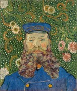 Портрет почтальона Джозефа Рулена (Portrait of the Postman Joseph Roulin), 1889 - Гог, Винсент ван