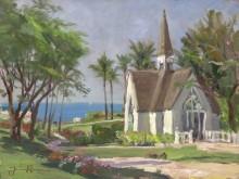 Часовня в Ваилеа, Гавайи - Кинкейд, Томас