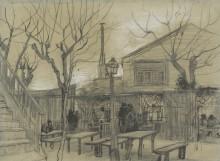 Guinguette, 1887 - Гог, Винсент ван