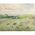 Пахота полей, Эрани 1888 - Писсарро, Камиль