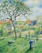 Яблони в цвету, 1953 - Манцана-Писсарро, Жорж