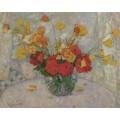 Букет цветов, 1917 - Смет, Леон де