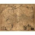 Карта Украины -  Гийом, Ле Вассер де Боплан