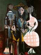 Жак и молодые девушки, 1960 - Пикассо, Пабло