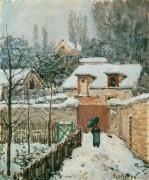 Снег в Лувесьене - Сислей, Альфред