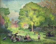 Пикник в парке - Кросс, Анри Эдмон