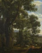 Пейзаж с пастухом коз - Лоррен, Клод (Желле)