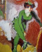 Женщина в зеленом трико - Донген, Кеес ван