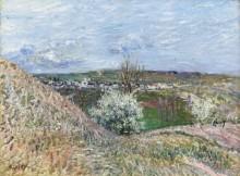 Холмы Санкт-Maммс весной - Сислей, Альфред