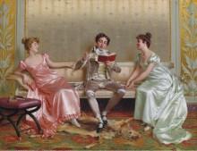 Чтение - Реджанини, Витторио