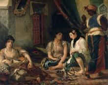 Алжирские женщины - Делакруа, Эжен