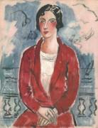 Красное пальто, Монте- Карло, 1926 - Вуд, Кристофер