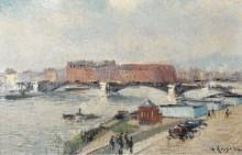 Доки, мост Буальдье, Руан, 1930 - Луазо, Гюстав