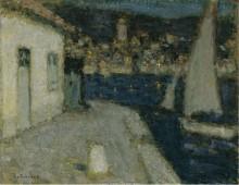 Лодки, Сен-Жан-Кап-Ферра, 1910 - Сиданэ, Анри Эжен Огюстен Ле
