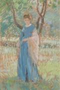 Женщина в шале -  Бюхр, Карл Альберт