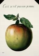 Это не яблоко - Магритт, Рене