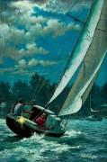 Плавание лунной ночью - Сарноф, Артур
