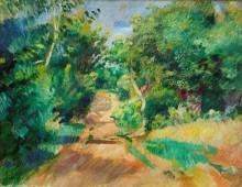 Пейзаж в окрестностях Варажвиля - Ренуар, Пьер Огюст