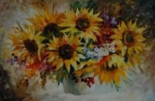 Цветы на рассвете - Афремов, Леонид (20 век)