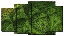 Абстракция зеленая_2
