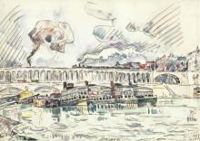 Виадук в Отейе, 1927 - Синьяк, Поль