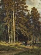 Лесная дорога, 1871-1872 - Шишкин, Иван Иванович