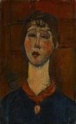 Портрет мадам Дориваль - Модильяни, Амадео